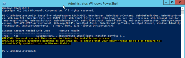 NewInstS4B2015-06-12 22_10_25-Administrator_ Windows PowerShell