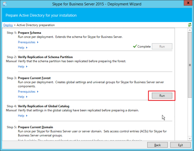NewInstS4B2015-06-12 22_25_42-Skype for Business Server 2015 - Deployment Wizard