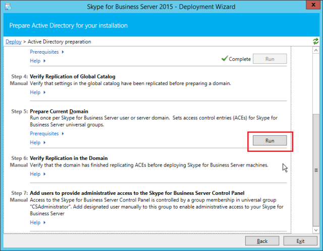 NewInstS4B2015-06-12 22_26_13-Skype for Business Server 2015 - Deployment Wizard