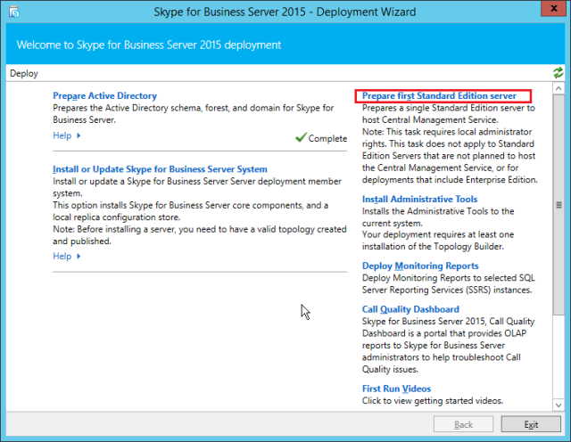 NewInstS4B2015-06-12 22_26_30-Skype for Business Server 2015 - Deployment Wizard