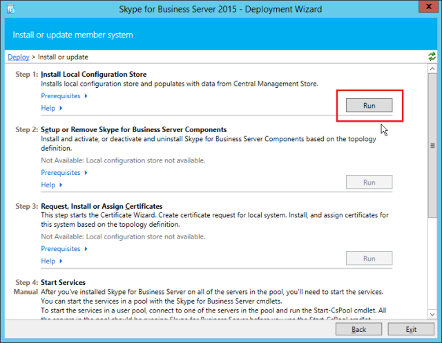 NewInstS4B2015-06-12 22_49_09-Skype for Business Server 2015 - Deployment Wizard