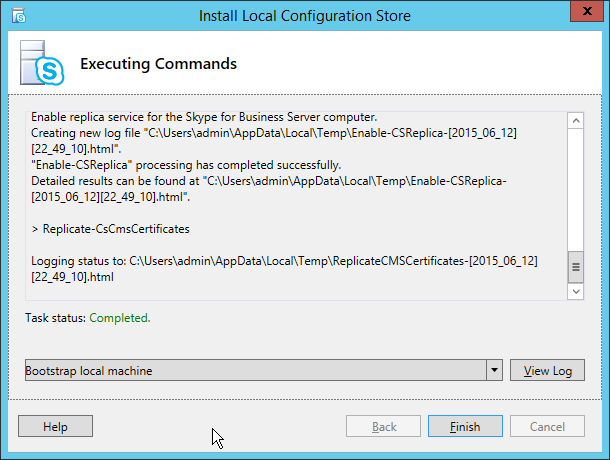 NewInstS4B2015-06-12 22_53_39-Install Local Configuration Store