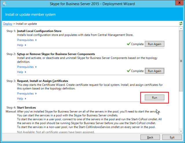 NewInstS4B2015-06-13 01_58_34-Skype for Business Server 2015 - Deployment Wizard